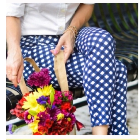 kate spade Pants - Kate Spade Perry Street Plaid Ankle Pants